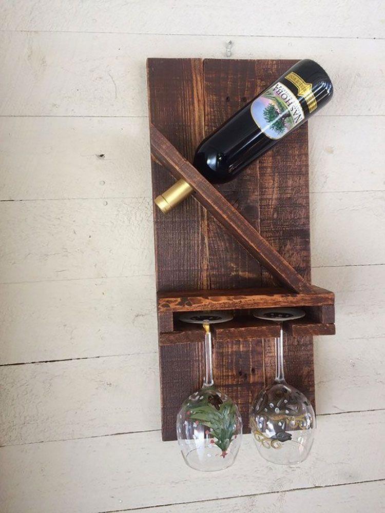 Portabottiglie vino fai da te 25 modelli semplici da for Portabottiglie vino fai da te