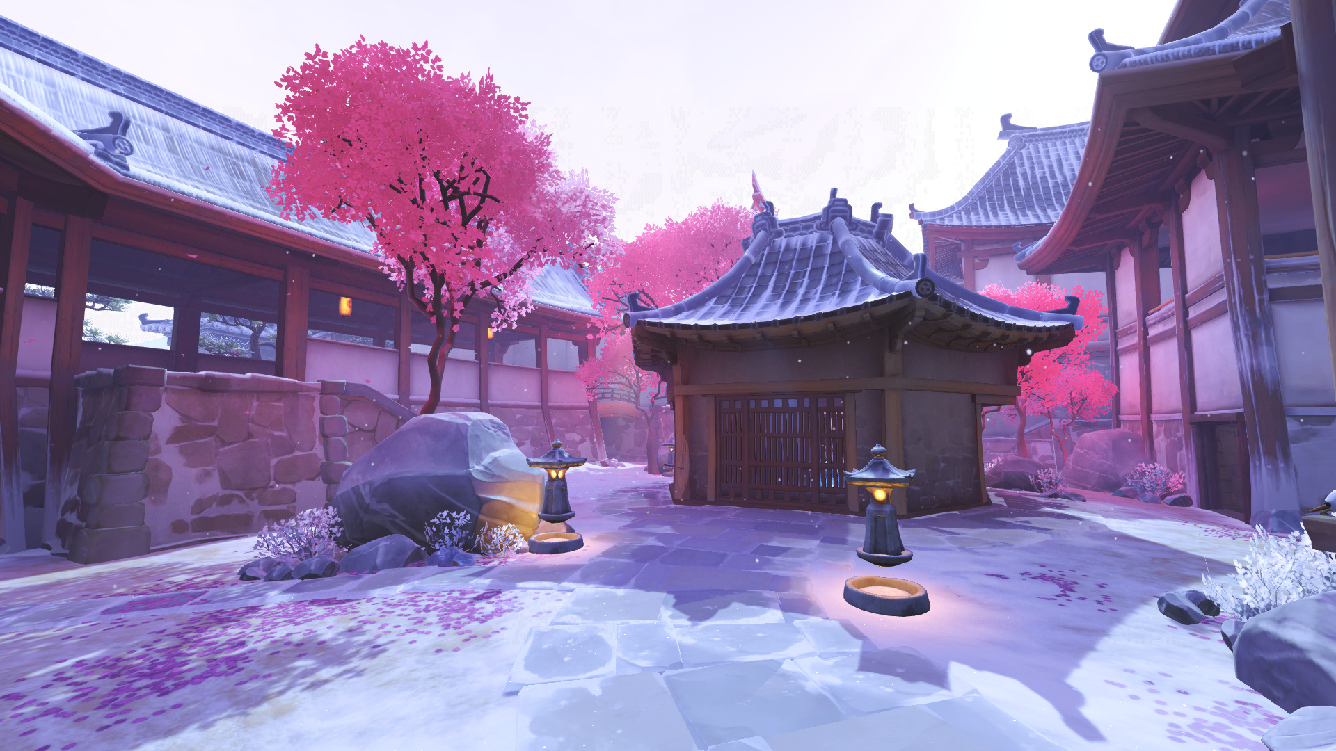 Holiday Hanamura Overwatch Fantasy Places Overwatch Game Environment