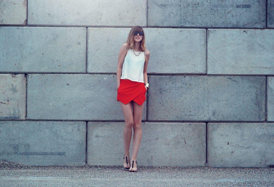 outfit: the skort hype - BEKLEIDET