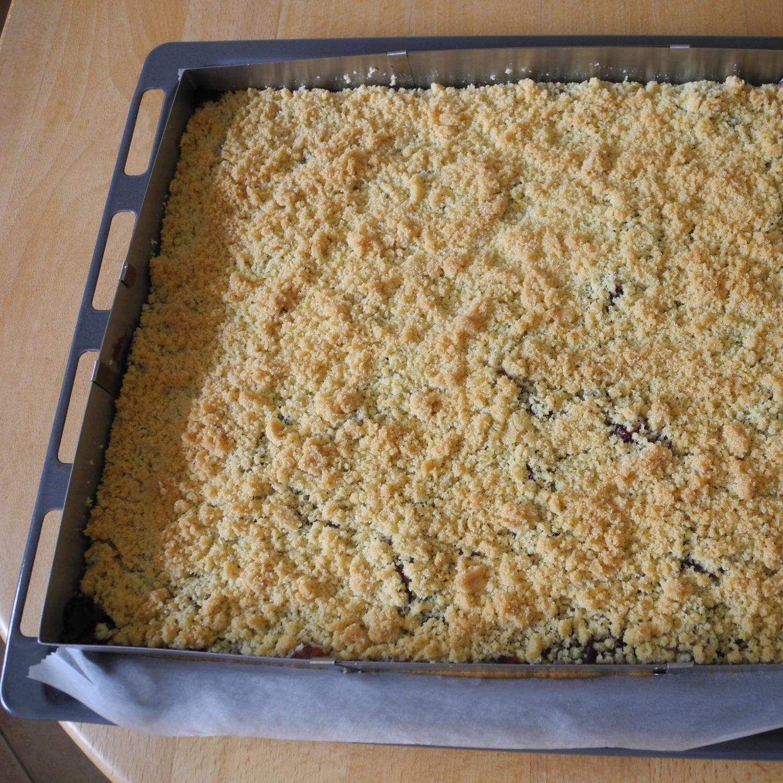 Kirsch Streuselkuchen wie vom Bäcker