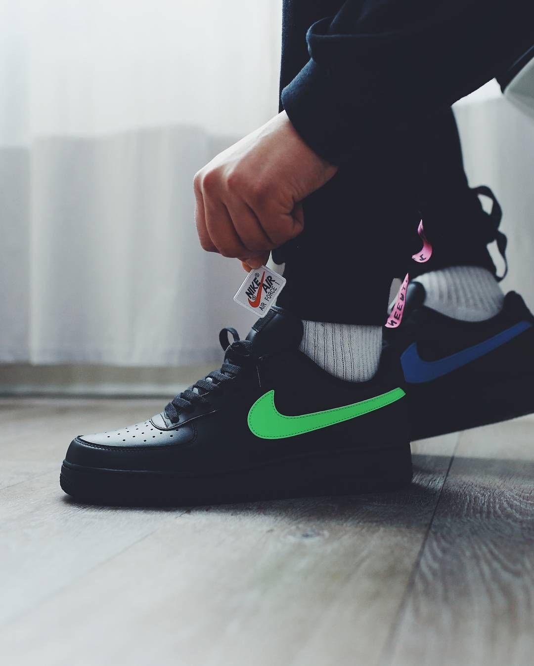 Black · Release Date : February 23, 2018 Nike Air Force 1 « ...