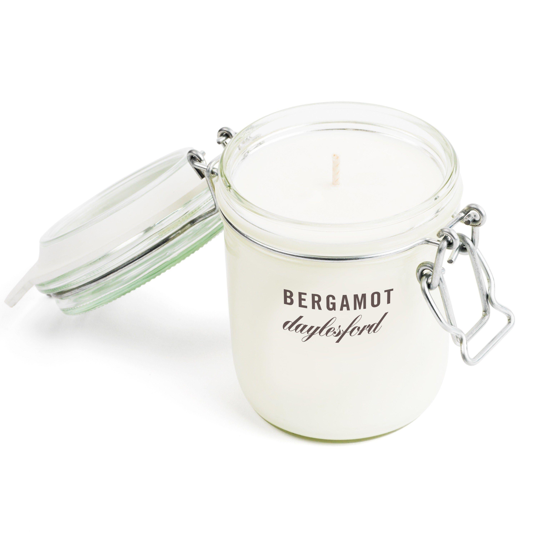 Botanical Bergamot Candle (large)   Candles, Fig leaves ...
