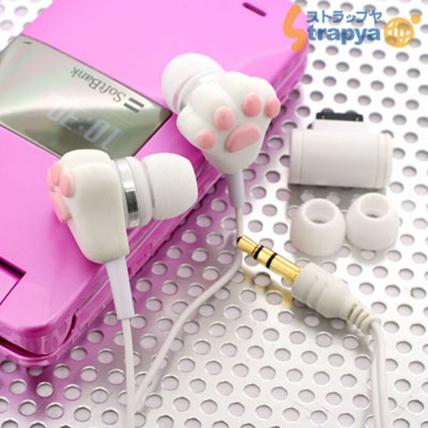 Cute paw ear buds!! |Pinned from PinTo for iPad|
