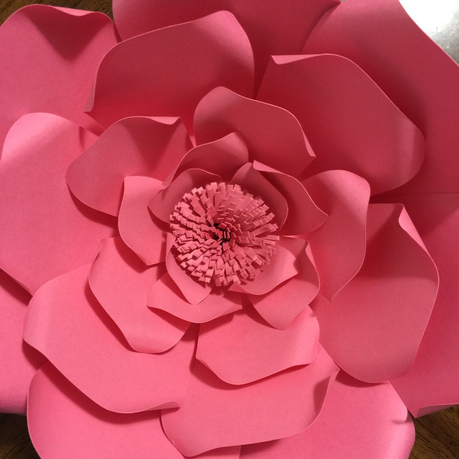 Princess Birthday Diy Large Paper Flowers Paper Flower Wall Paper