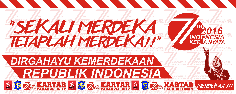 20+ Inspiration Contoh Banner Hari Kemerdekaan