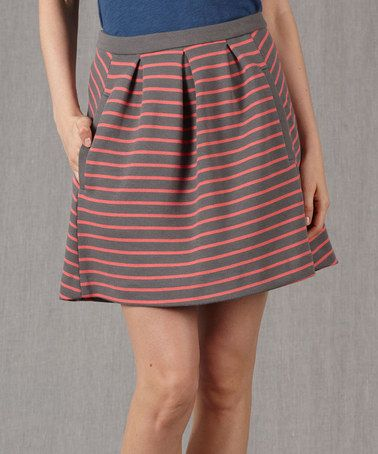 Look what I found on #zulily! Pewter Lexington Skirt - Women by Boden #zulilyfinds