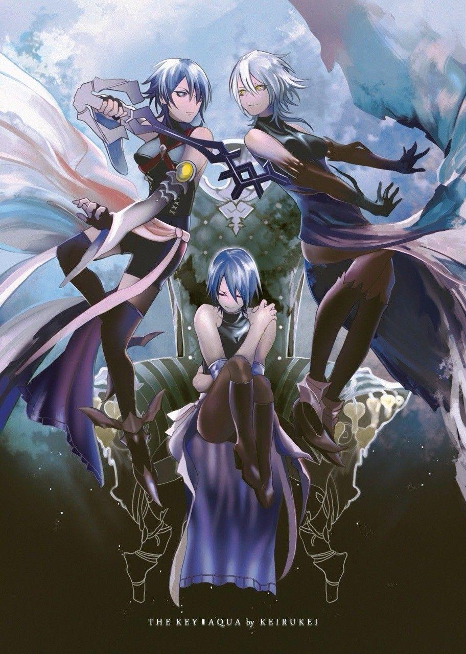 Kingdom Hearts Aqua Fanart Kingdom Hearts Wallpaper Kingdom Hearts Fanart Kingdom Hearts Characters