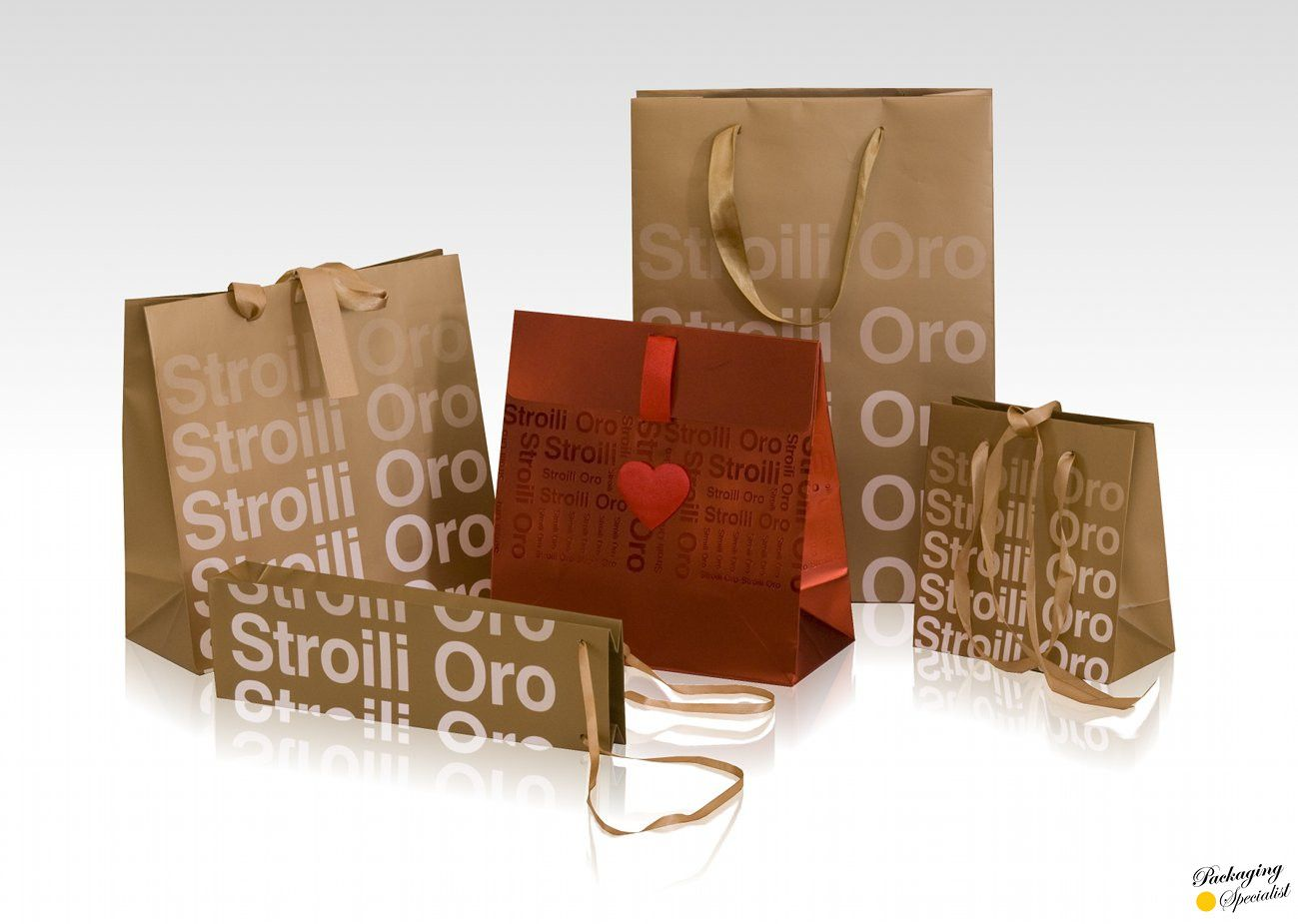 brand corporate image packaging / 4 jewelry