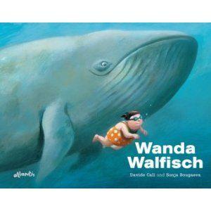 Ein wunderschönes Bilderbuch über die Macht der Gedanken und wie sie uns stark machen können. Wanda denkt sie ist zu dick um zu schwimmen. Ihr Lehrer gibt ihr den Tip sich zu denken wie sie denn gerne sein möchte und auf wundersame Weise kann Wanda nun viel besser mit allem umgehen! Herrlich zum anschauen und vorlesen