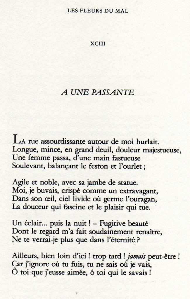 Charles Baudelaire Poeme Et Citation Citation Auteur Et
