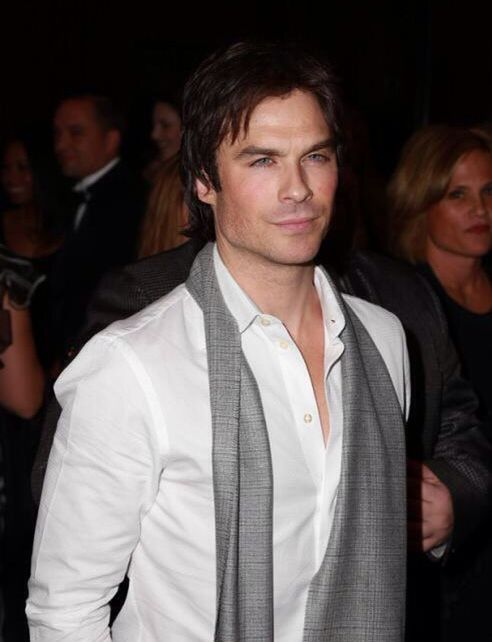 #IanSomerhalder at the Annual Noble Awards