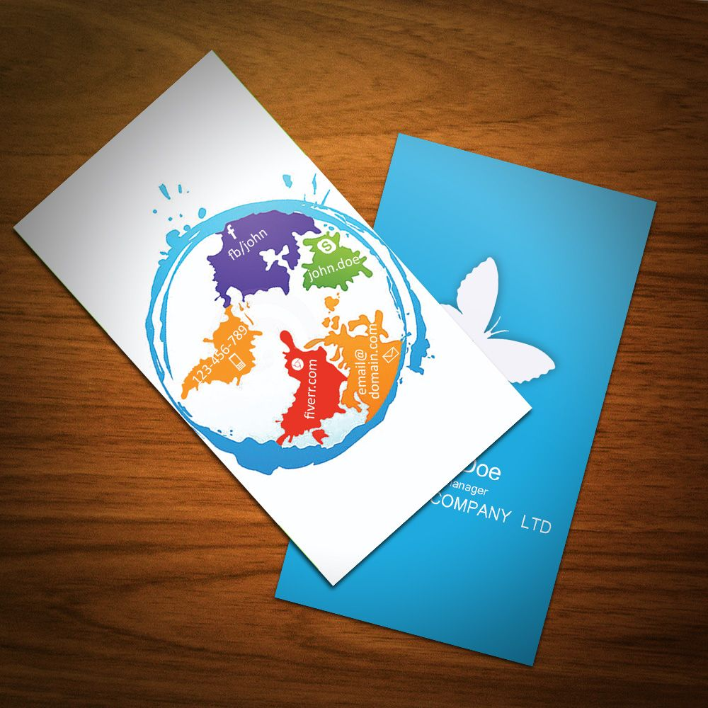 aas_ali: design UNIQUE and Attractive Business Card for $5, on ...