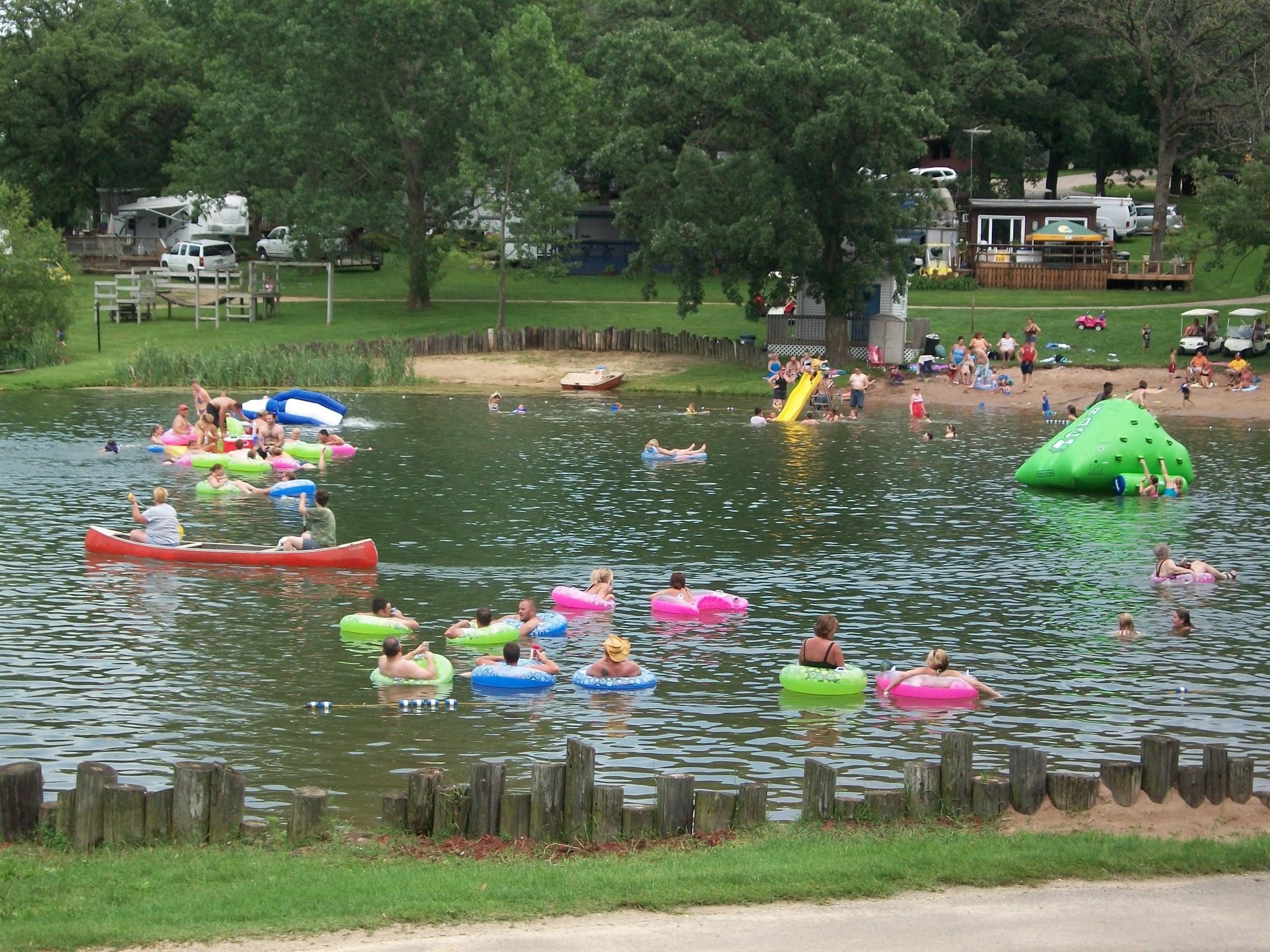 Lake Joy Campground Belmont Wisconsin Lake Campground Wisconsin