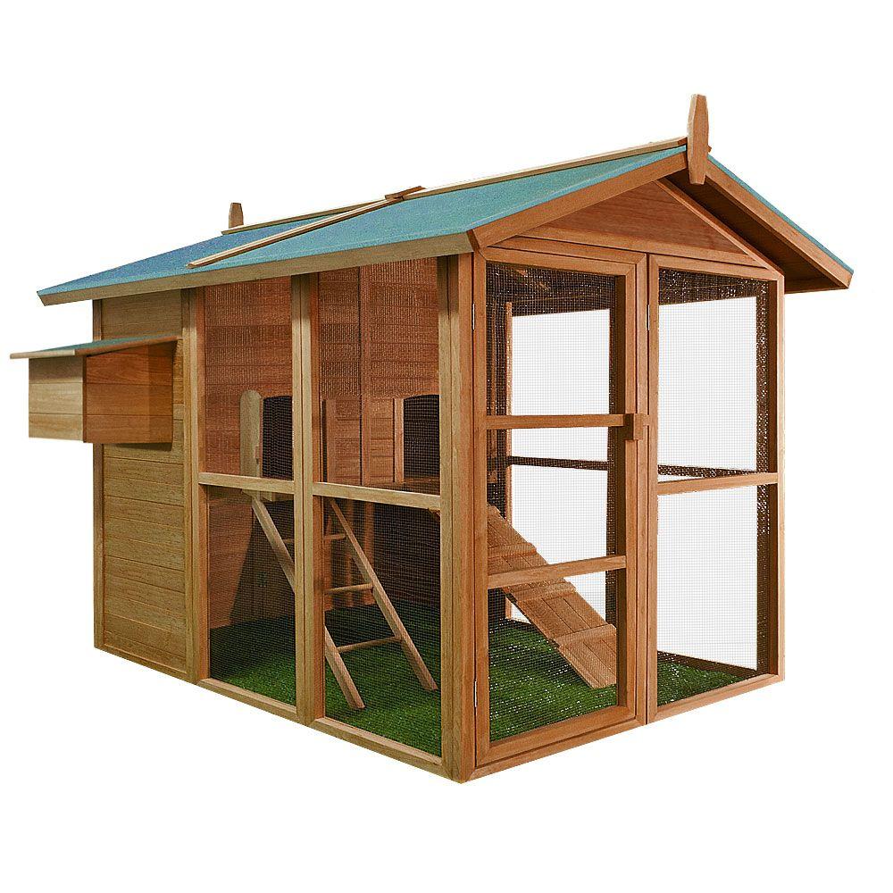 Hühnerstall Hühnerhaus Stall Kleintier Hühner Hase Huhn