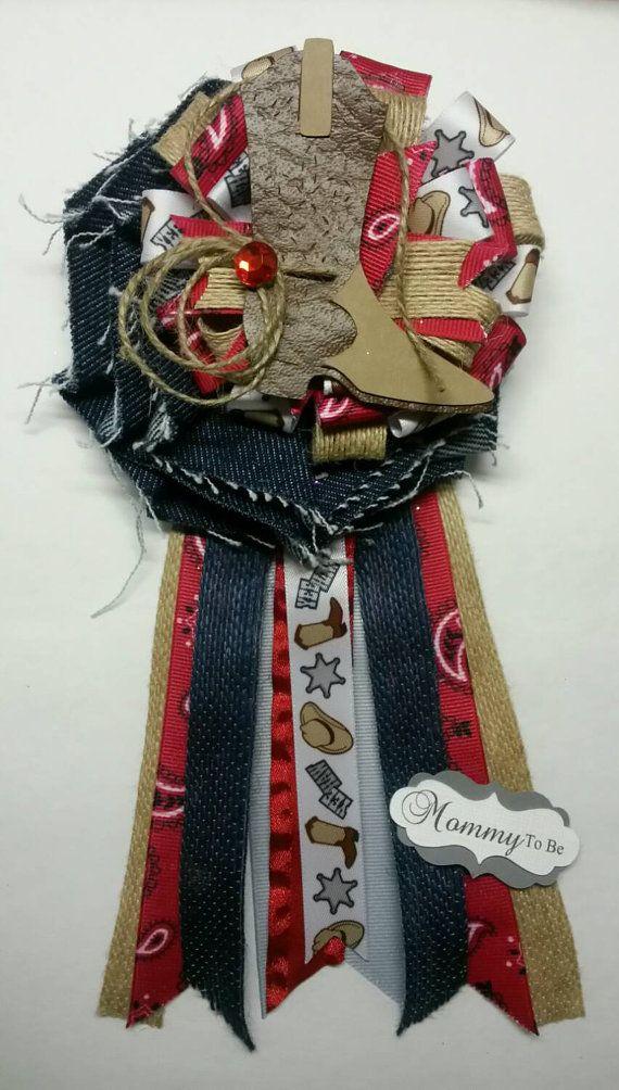 Cowboy Corsage Western Corsage Western Mommy By Fourdollysboutique