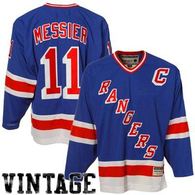 best service acac7 99ddc Reebok Mark Messier New York Rangers Heroes Of Hockey ...
