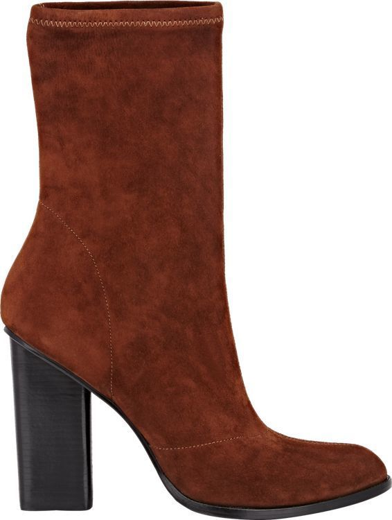 dd1524cbcde24 Trending On ShopStyle - Alexander Wang Suede Gia Low Boots-Brown - ShopStyle  Women