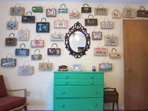 How To Group Art And Collectibles Into High Impact Wall Decor   6 Basic  Ideas From 19 Reader Homes   Retro Renovation