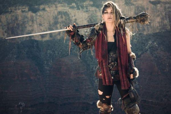Women Warrior Artwork Sword Rain Cyberpunk Cyberpunk: Renegade By Twisted-Chimera Female Cyberpunk Fighter