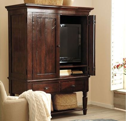 Traditional Bookcases, Cabinets And Computer Armoires By Pottery Barn