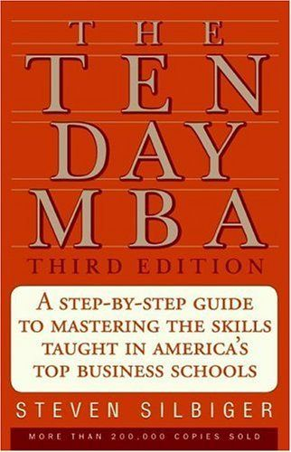 The Ten-Day MBA 3rd Ed.: A Step-By-Step Guide To Mastering The Skills Taught In America's Top Business Schools by Steven A. Silbiger, http://www.amazon.com/dp/0060799072/ref=cm_sw_r_pi_dp_lRZvqb1C8P8K0