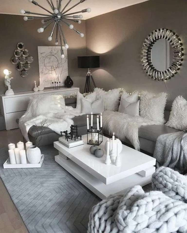 45++ Living room ideas rustic modern formasi cpns