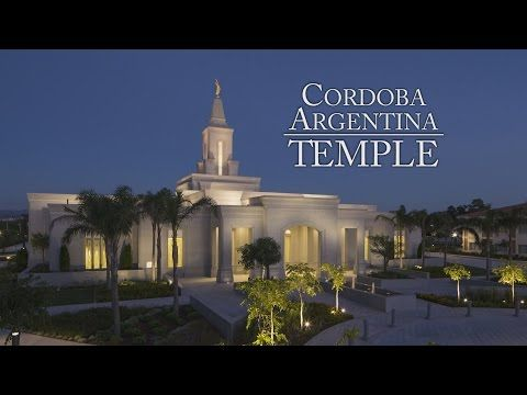 LDS Living - New Video 'Goes Inside' Cordoba Argentina Temple, Dedicated Today