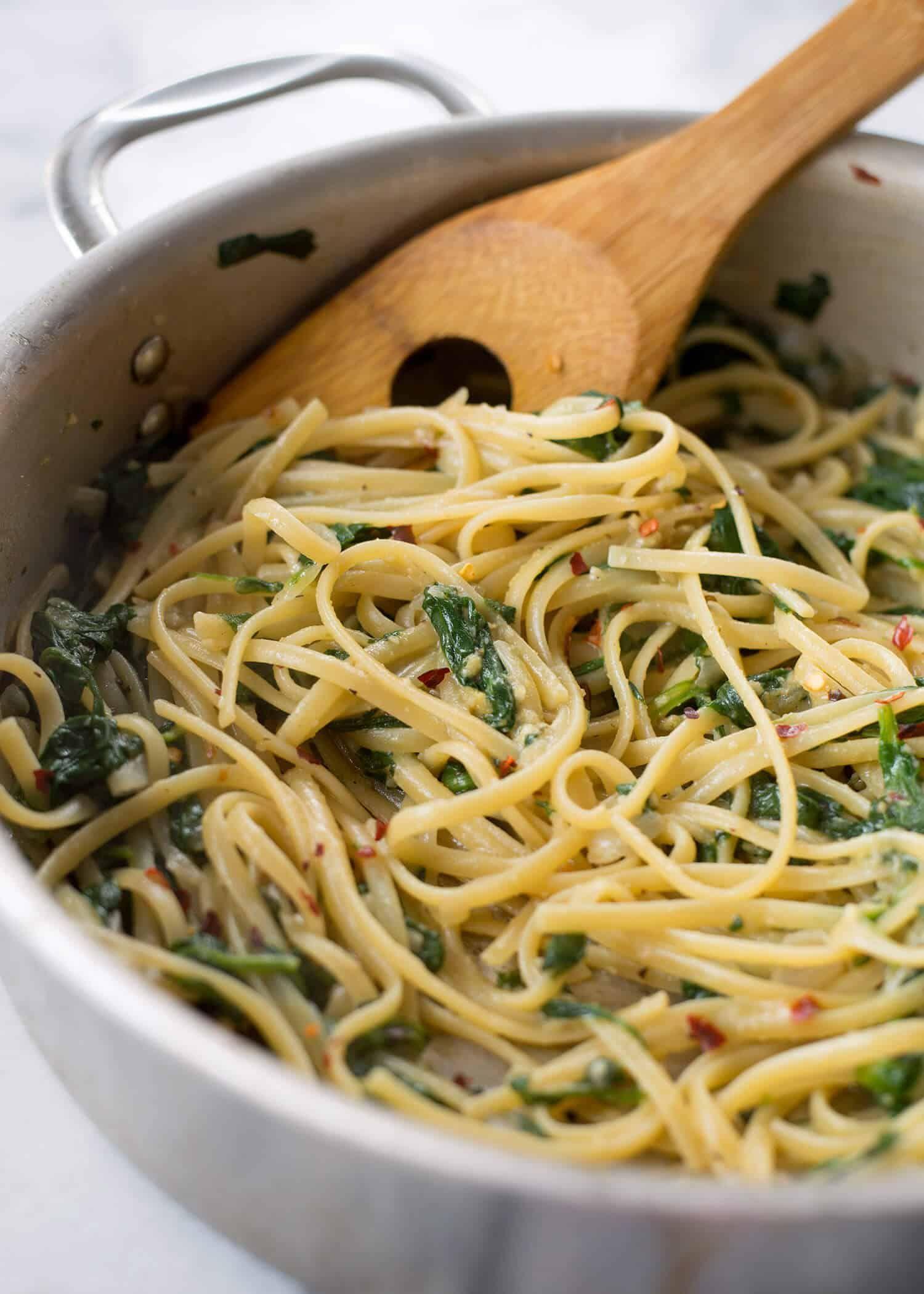 Easy 20 Minute Vegan Pasta
