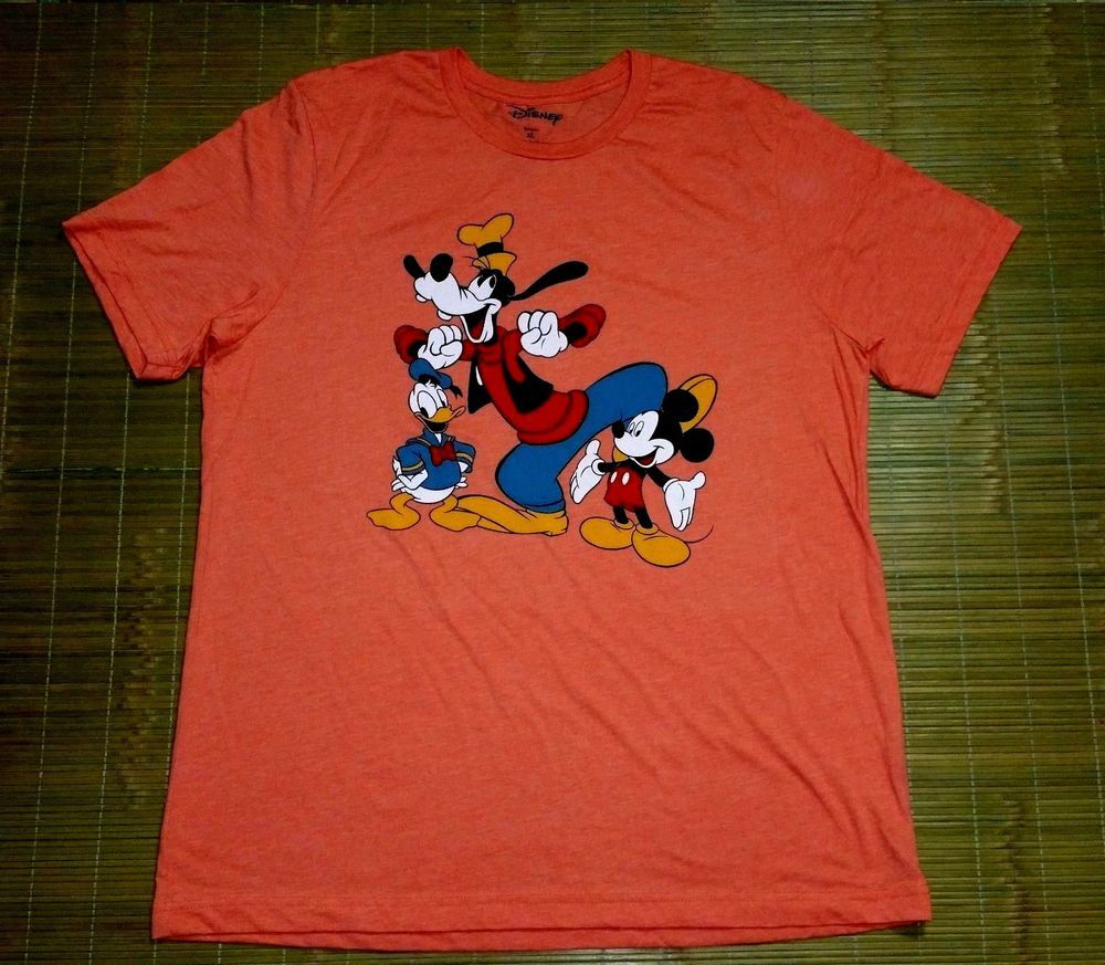 Hommes/'s Retro Official Merchandise Mickey Mouse T Shirts