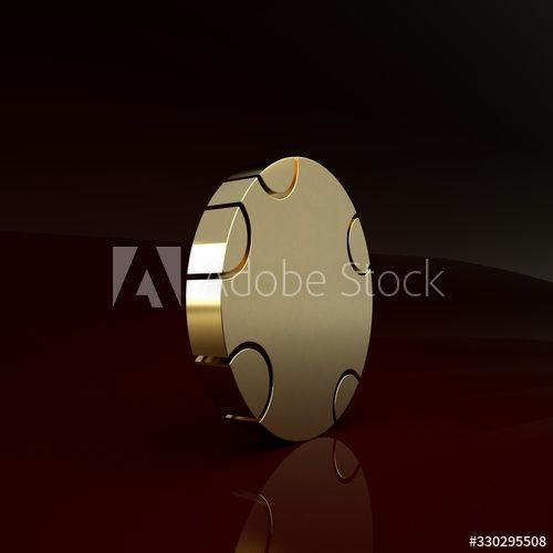 Gold Rubber Swimming Ring Icon Isolated On Brown Background Life Saving Floating Lifebuoy For Beach Rescue Be In 2020 3d Illustration Saving Lives Stock Illustration