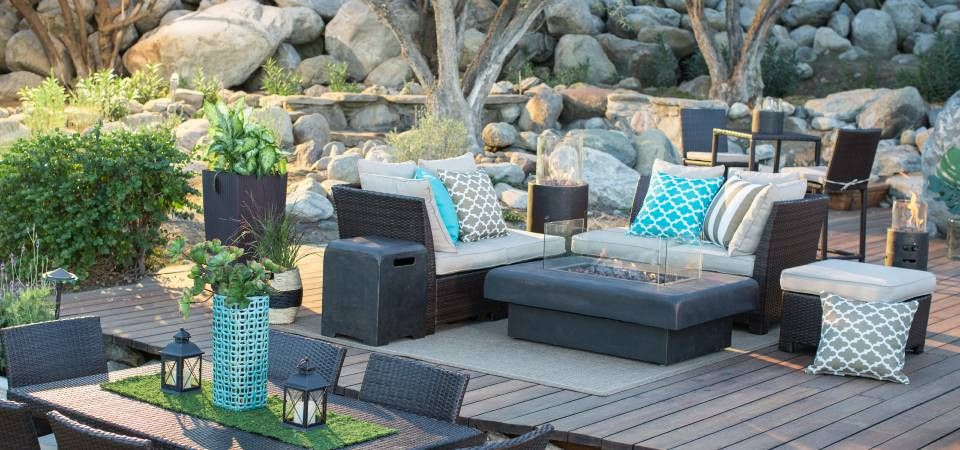 Attractive Patio Furniture Sets · Lifestyle Blog: How My Patio Would Look Like If I  Had One