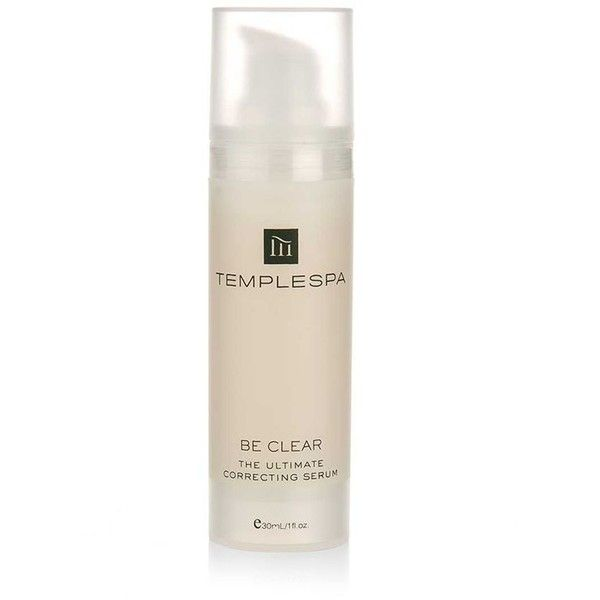 Temple Spa Be Clear Correcting Serum ($57) ❤ liked on Polyvore featuring beauty products, skincare and face care