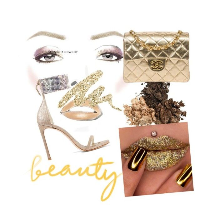 """""""beauty"""" by morgana90 ❤ liked on Polyvore featuring beauty, Stuart Weitzman, Urban Decay and Chanel"""