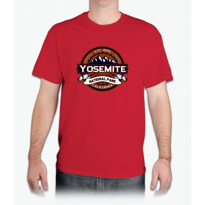 Yosemite Logo For Dark - Mens T-Shirt