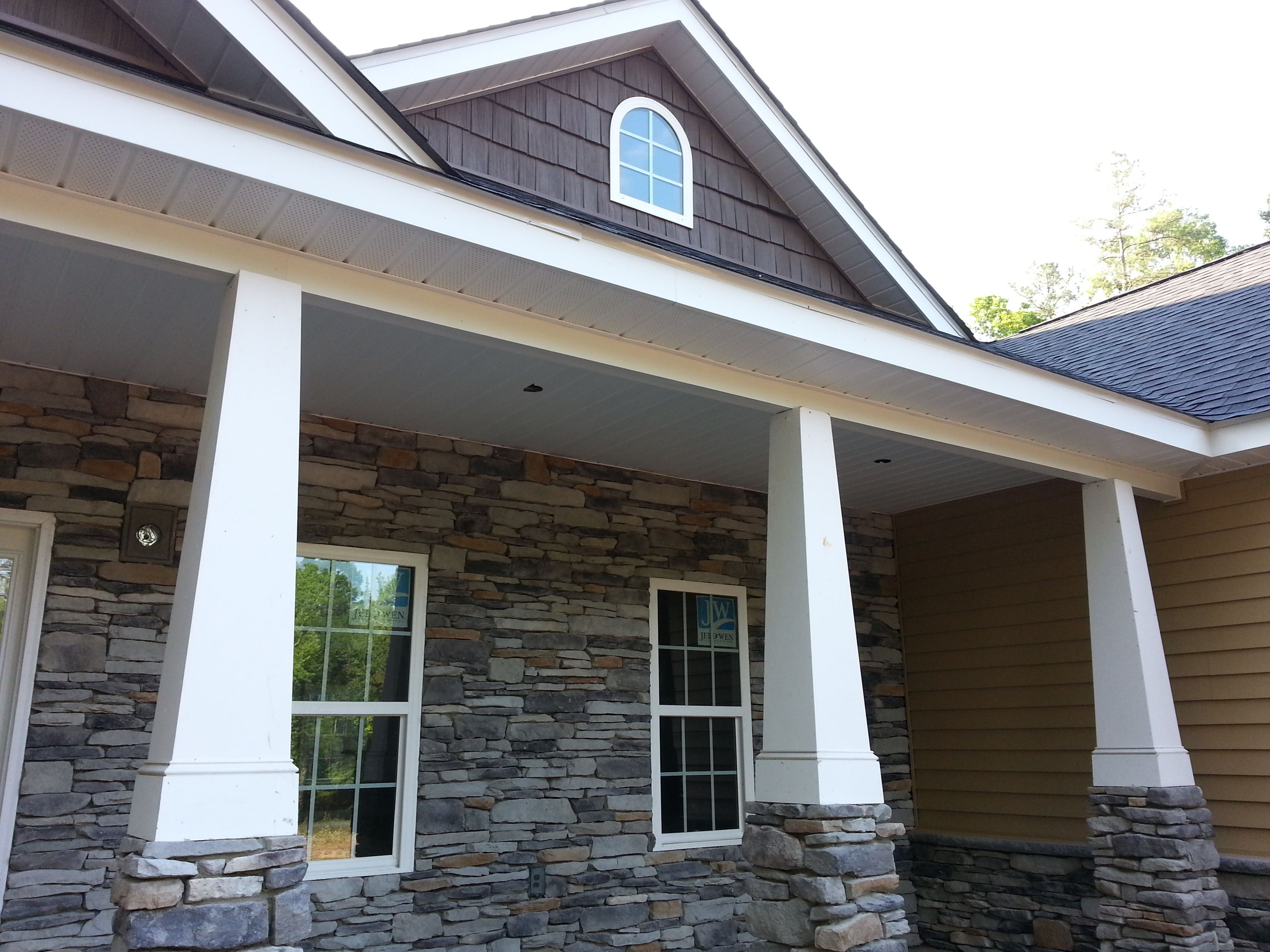Craftsman Tapered Columns Great Tapered Columns With
