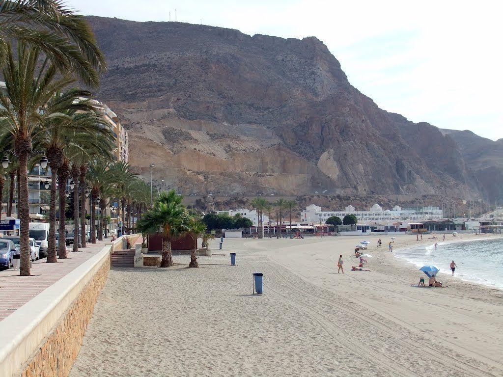 Playa Aguadulce Roquetas de Mar  ***photo: Robert Bovington #Roquetas de Mar article: http://www.unique-almeria.com/roquetas-de-mar.html