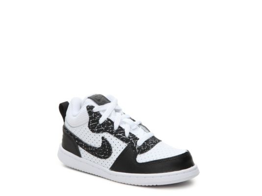 Men's Nike Court Borough Mid-Top Boys Infant & Toddler High-Top Sneaker -