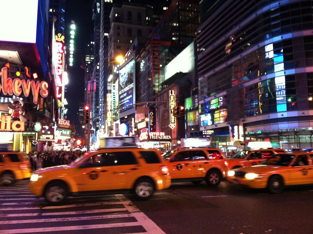 42th street NY night - Google Search