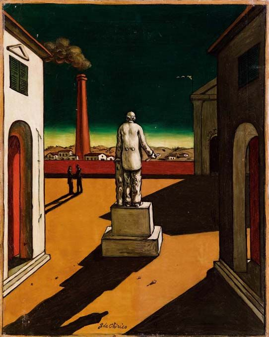 Artfully Awear Giorgio De Chirico Metaphysical Painting