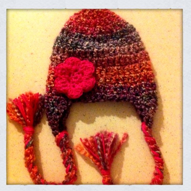 My Cousin Makes these Girls hat <3