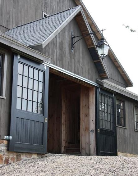 Exterior Doors With Glass Barn Living Barn House Barn Design