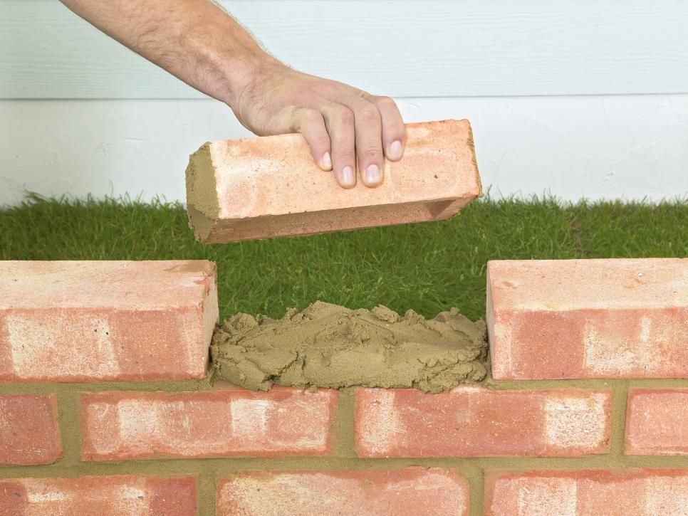 Plan On Doing This Project Over A Couple Of Weekends Lay The Footings For The Wall And Allow It To Dry For Brick Wall Gardens Brick Garden Edging Brick Garden