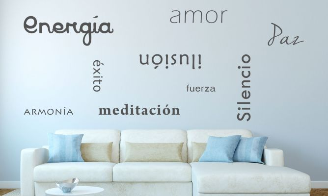 Paredes decoradas con frases Frases, Decoración y Decoracion de pared - paredes decoradas