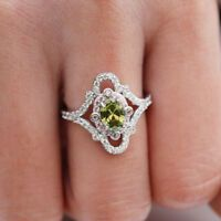 Details about Fashion Women Black Sapphire 925 Silver Rings Jewelry Wedding Ring Size 6-10