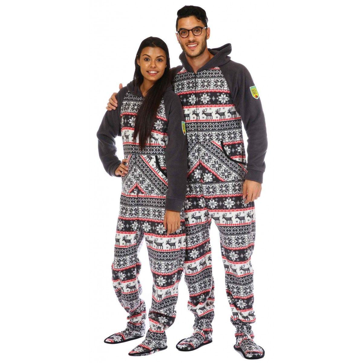 """Amanda 5'8"""" Wearing Medium Pajama Reza 6"""" Wearing Large"""