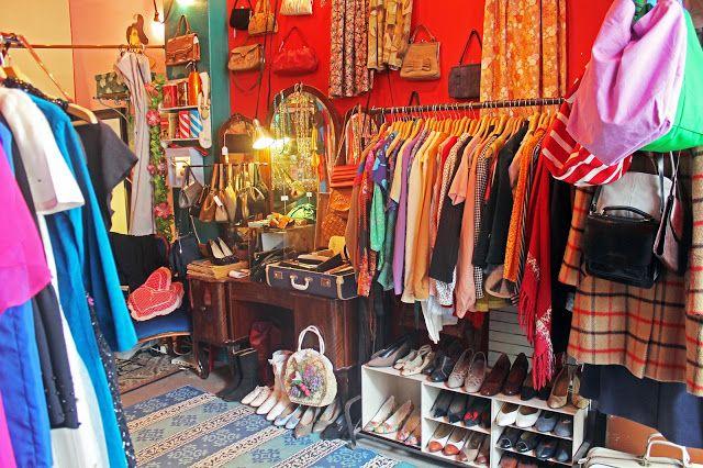 Ansa Second Hand Shop in Kallio (White Rabbit: Kallion vintage-kierros osa 2: Ansa)