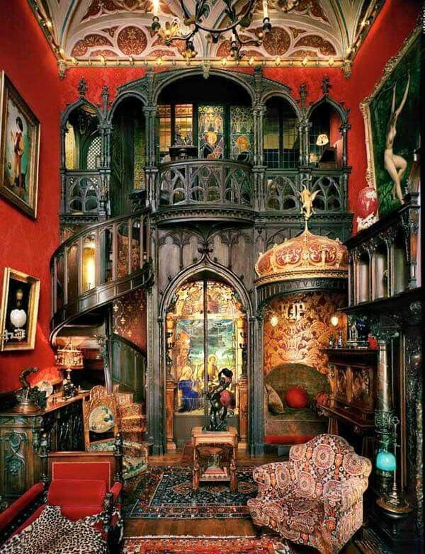 C Gothic Revival Olivier Foltzer Galerie Maison FROh I Belong In A Place Like This To Love And Make HomeI Sure Hope The Family Who Lives There