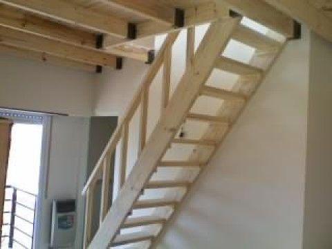 Altillos escaleras barandas entrepisos de madera pergolas for Escaleras para construccion