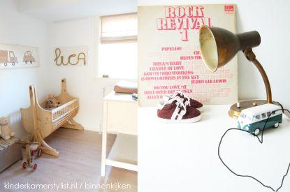 Babykamer jongen / Babette Leertouwer | Kinderkamerstylist