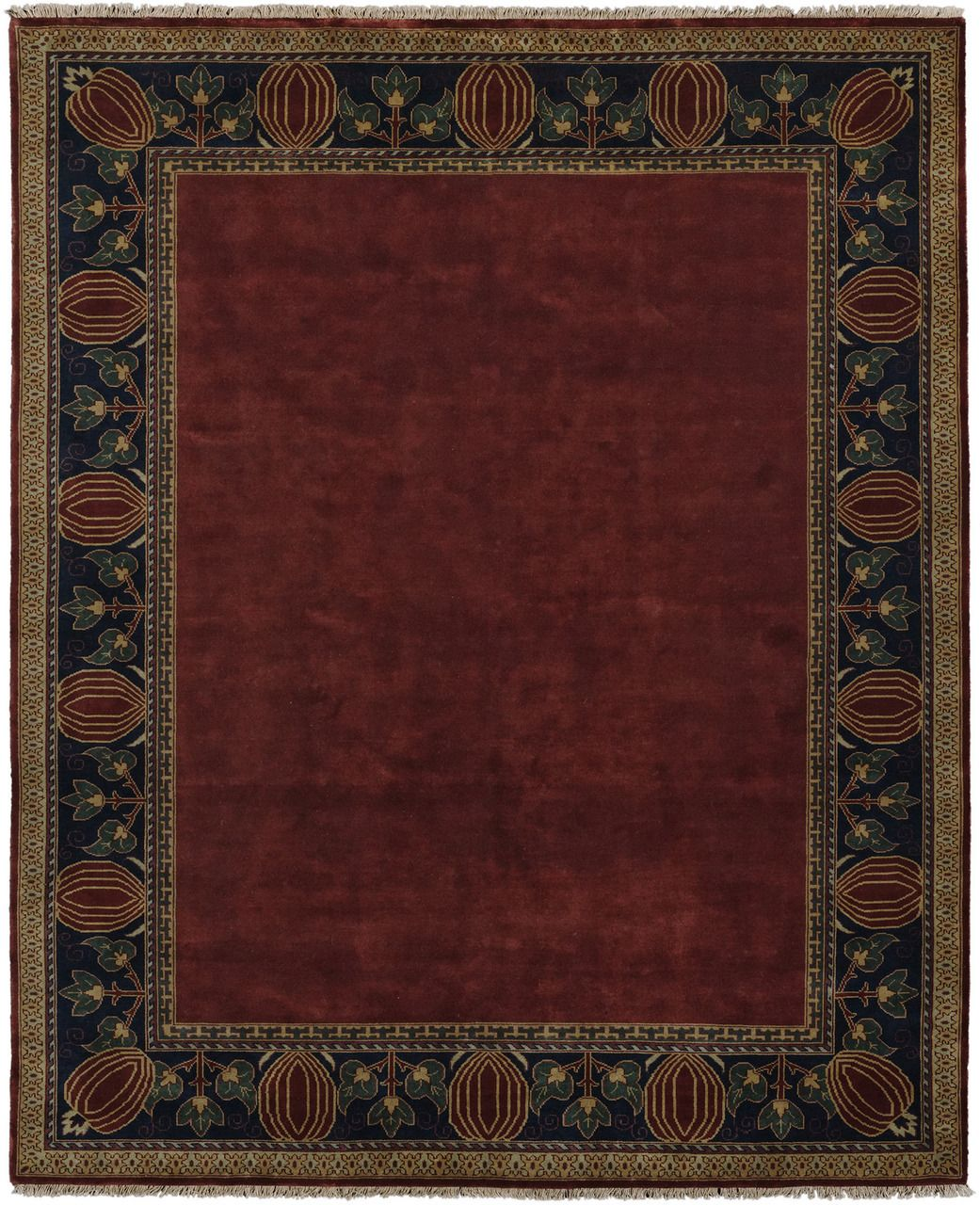 Oak Park Border Rug Pc 7c Craftsman